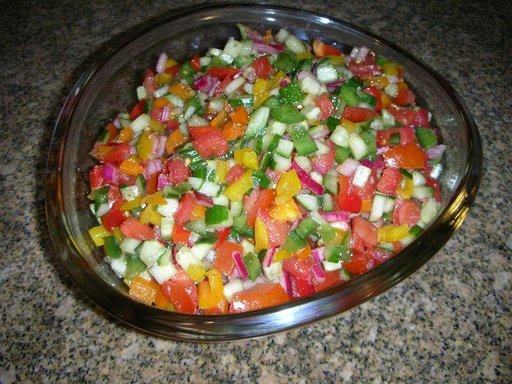 Israeli Salad | Recipe