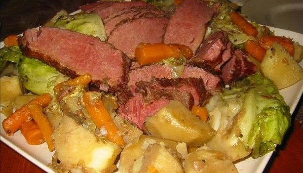 Corned Beef and Cabbage in Guinness | Just one more bite.... | Pinter ...