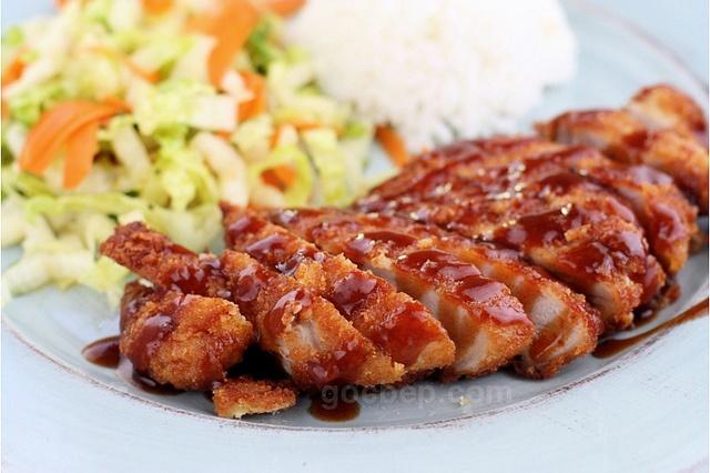 Tonkatsu - Japanese style pork cutlet | Interesting recipes | Pintere ...