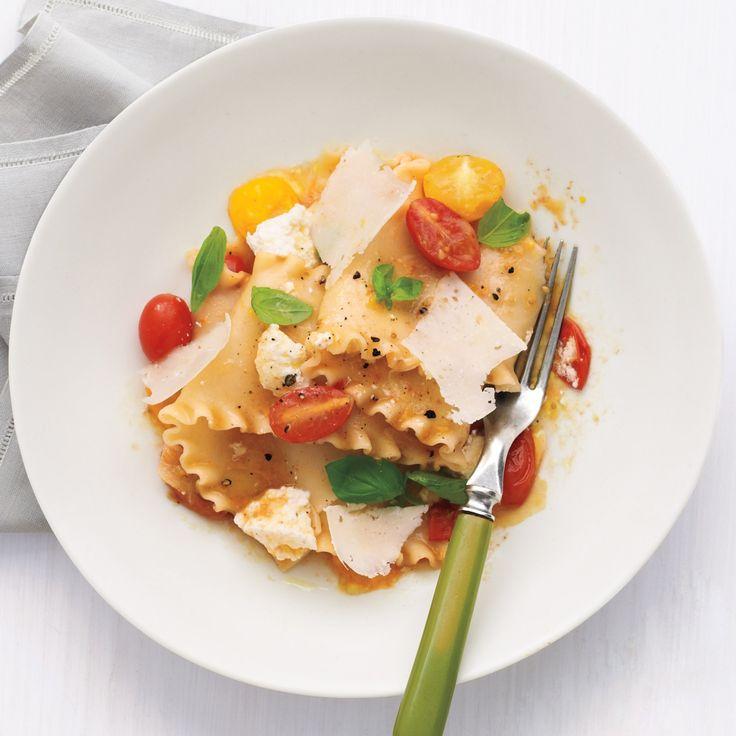 No-Bake Lasagna with Ricotta and Tomatoes | Recipe