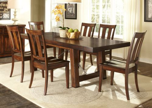 Liberty Furniture Tahoe Casual Dining Room Table Set