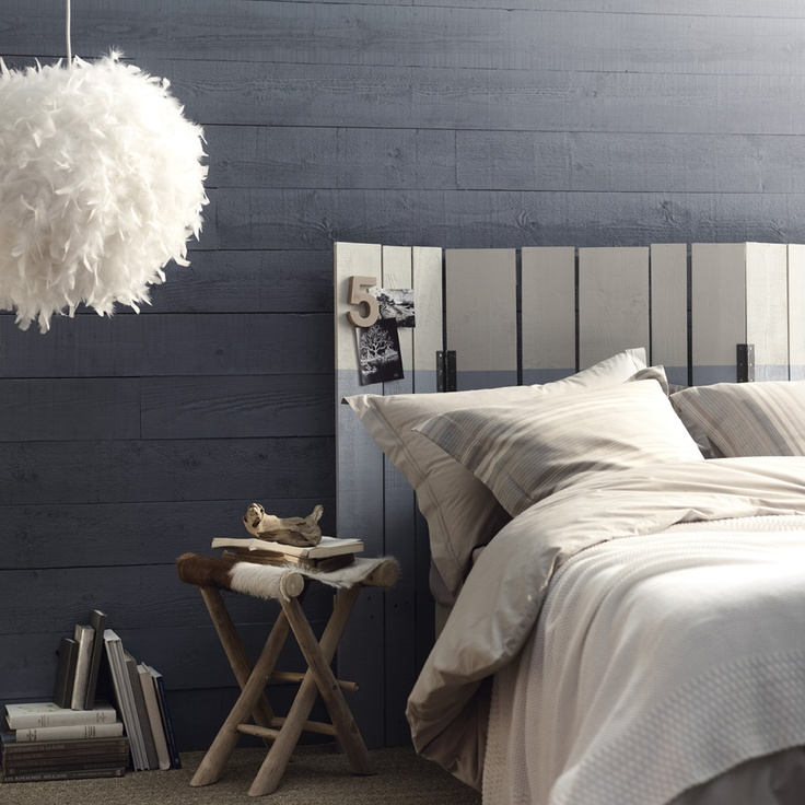 Tête de lit originale  [CREA] Decoration  Pinterest