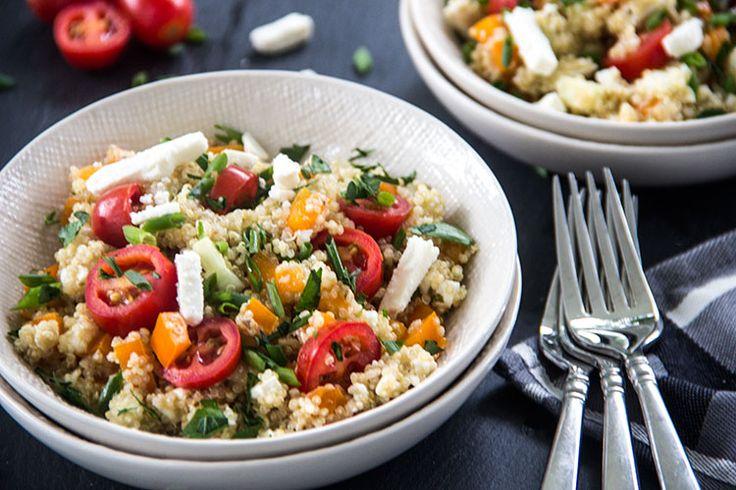 Greek Tomato And Feta Salad Recipe — Dishmaps