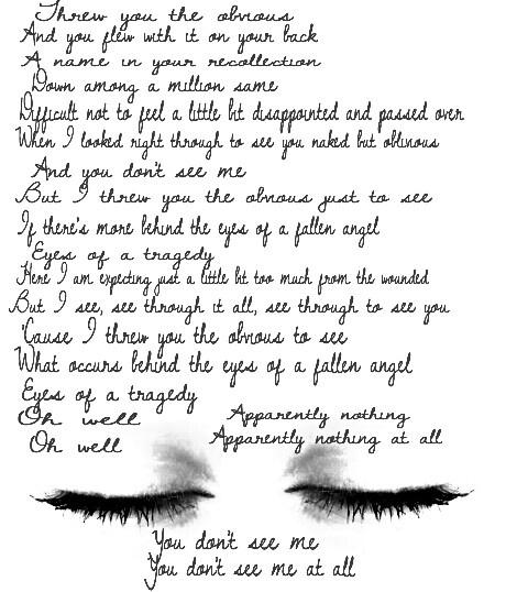 a perfect circle lyrics