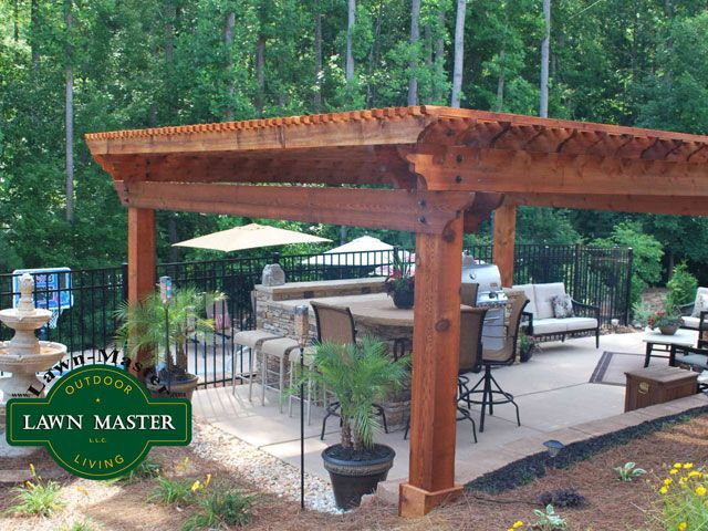 Lawn Master Outdoor Living : Premier Pergola 66  Pergolas and Pavilions  Pinterest