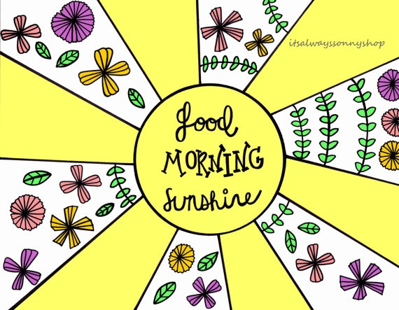 Sunday Morning Clipart Good Morning Sunday Clipart