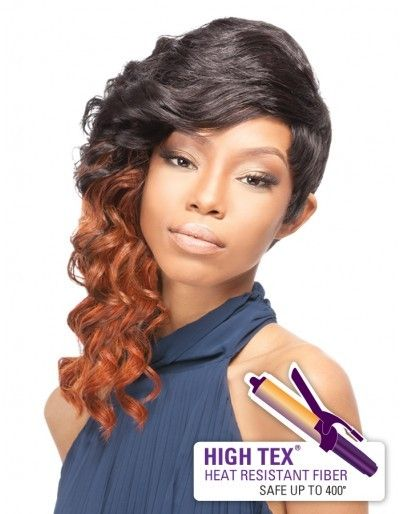 - Outre Quick Weave Complete Cap Synthetic Wig - Sexy Cut (High Tex ...