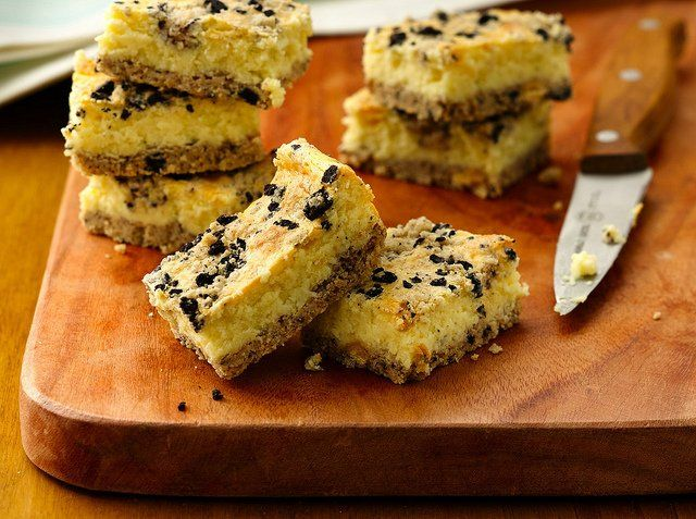 Cookies And Cream Cheesecake Bars | Desserts | Pinterest