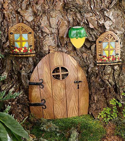 Elfin doors accessories fairy houses pinterest for Fairy house doors