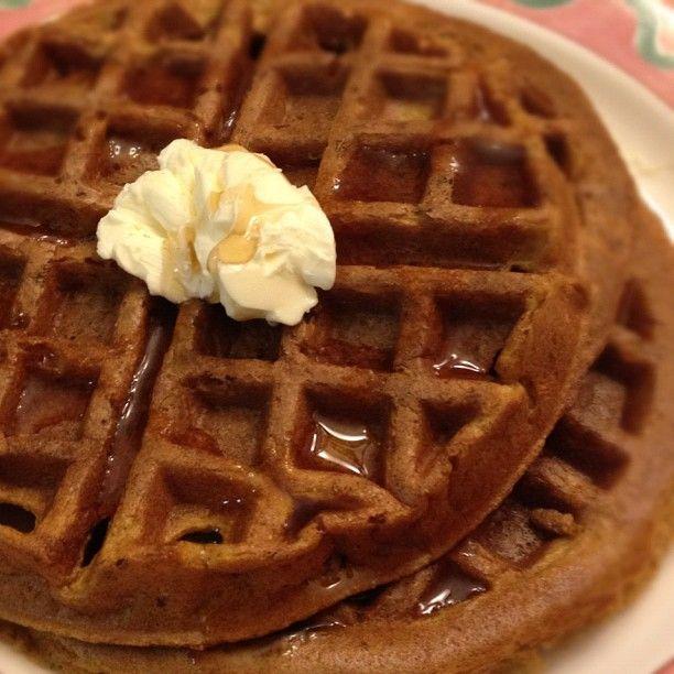 Sugar Free Sweet Potato Waffles | Breakfast | Pinterest