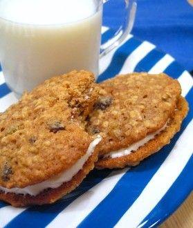 ... Raisin Sandwich Cookies with Cream Cheese Filling | Baking Bites
