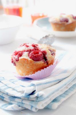 lime and raspberries muffins... | Sweet | Pinterest