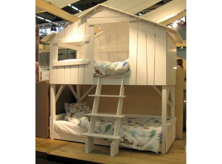 lit cabane superpos fun kids rooms pinterest. Black Bedroom Furniture Sets. Home Design Ideas