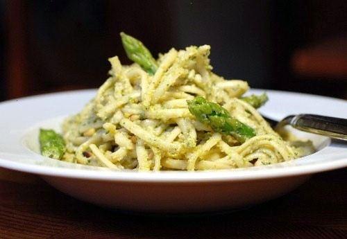Asparagus Pesto Pasta | Food & Drink | Pinterest