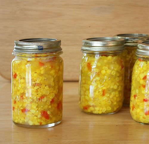 Corn relish recipe | Eat, Drink, & Be Merry | Pinterest