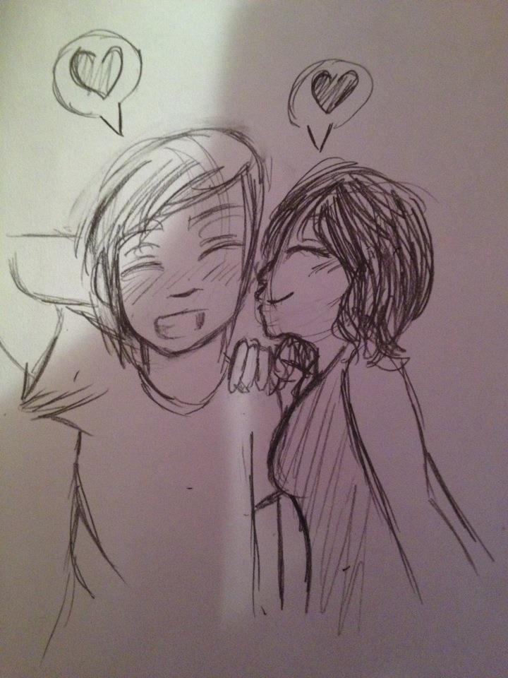 Me boyfriend girlfriend drawing doodle nikki greg spiffy for Cute drawings for a girlfriend