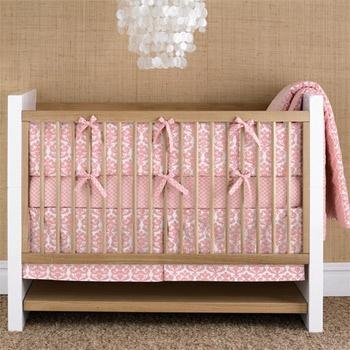 dwell studio pink crib bedding baby room pinterest