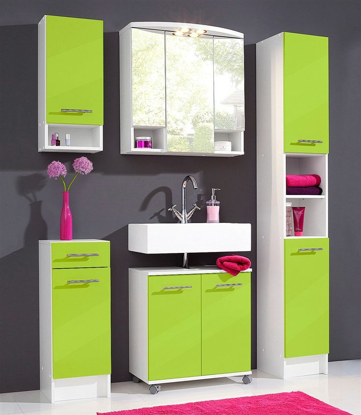 badezimmerm bel set limegreen pinterest. Black Bedroom Furniture Sets. Home Design Ideas