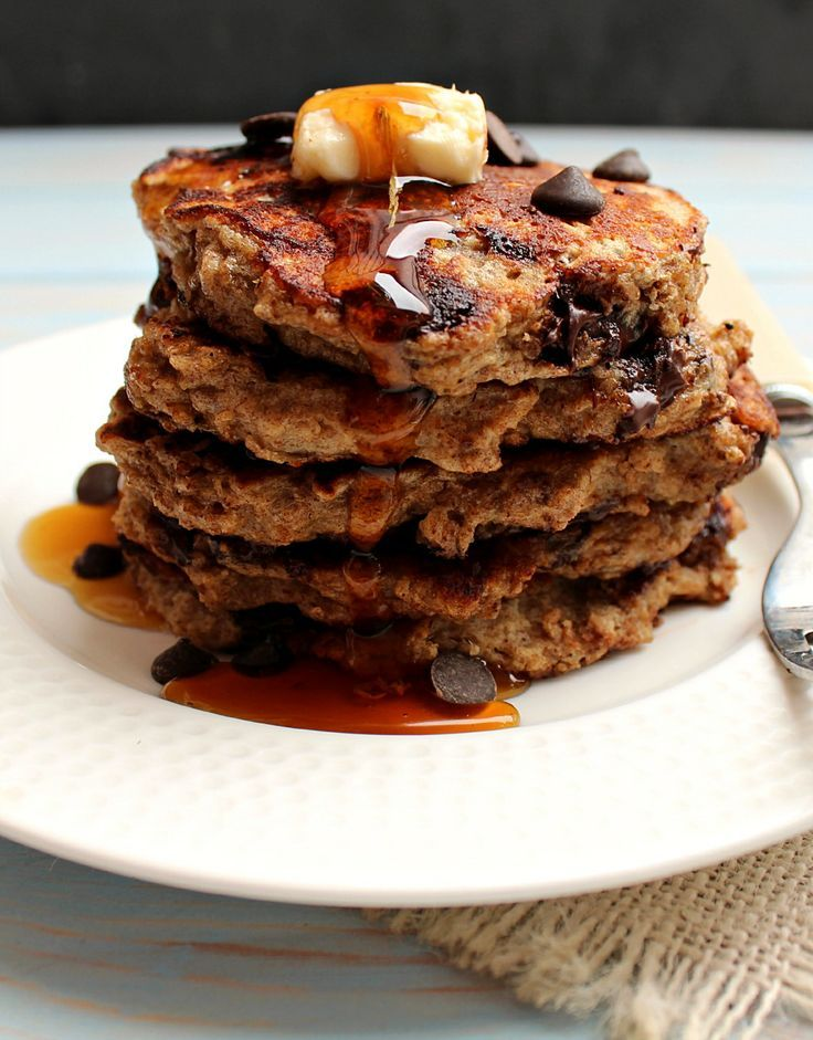 """Chocolate Chip Pan """"Cakes"""" With Cookie Dough Crumble Recipes ..."""