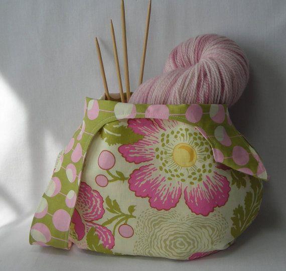 Free Pattern Crochet Japan Bag : japanese knot bag - knitting project bag - crochet project ...