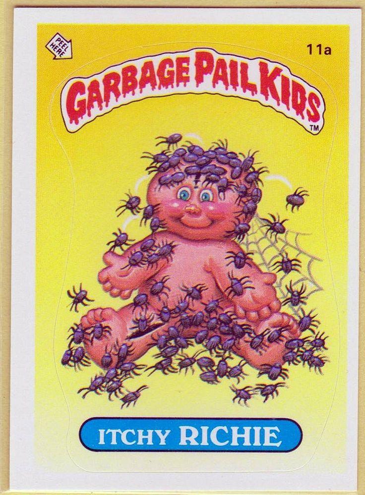 Garbage Pail Kids Childhood Memories Pinterest