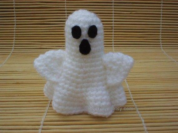 Halloween crochet pattern amigurumi pumpkin witch ghost ...