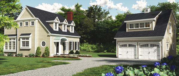 Pin by samantha bellinger on addition to cape cod pinterest for Cape cod garage