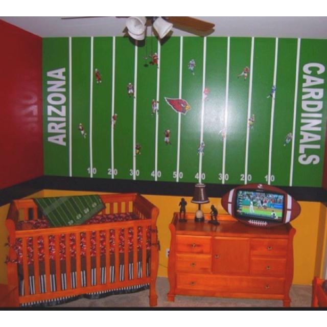 Man Cave Nursery : Football quot man cave nursery pinterest