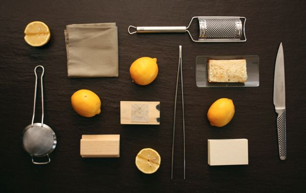 business cards Creative & Cooking by Andrea Vitali, via Behance