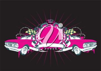 pink cars | clip art | Pinterest