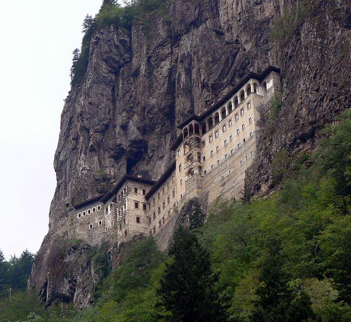 sumela monastery turkey  Places To See Before You Die ...