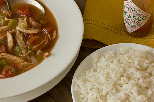 Chicken & Andouille Sausage Gumbo | Recipe