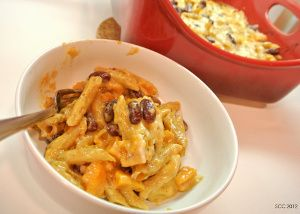 Chili Mac and Cheese with Roasted Squash and Beans ...