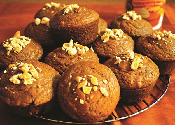 ... muffins spiked with peanuts, making them adaptable for those who need
