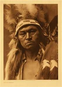 Falling on the Land, Cayuse Warrior