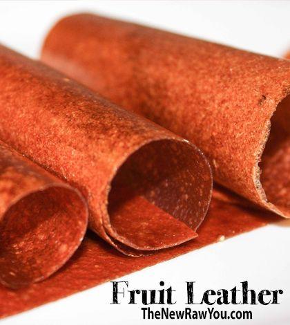 Peach Fruit Leather - TheNewRawYou.com | Gluten Free Deliciousness ...