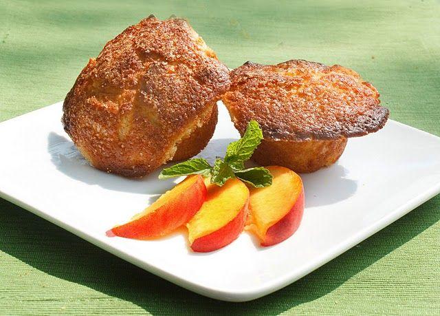 Peach Mimosa Muffins | Muffin Man | Pinterest