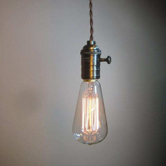 Love The Exposed Edison Light Bulbs Lighting Pinterest