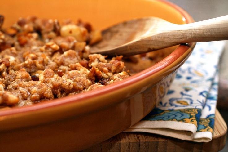 Pumpkin-Pear Crumble | Crumbles, Crisps & Cobblers | Pinterest