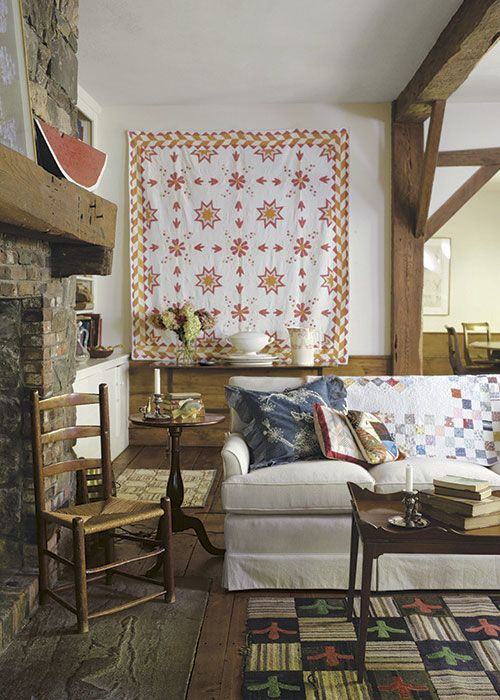 decorating with quilts style at home pinterest