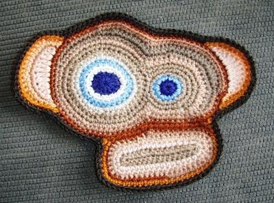 Crocheted monkey! http://janetberg.blogspot.no/2012/09/hva-blir-dette-del-3.html