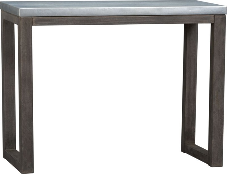 Counter Height Long Narrow Table : stern counter table CB2 48