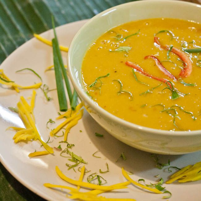 Thai Pumpkin Soup - avocadopesto | Spicing Things Up | Pinterest