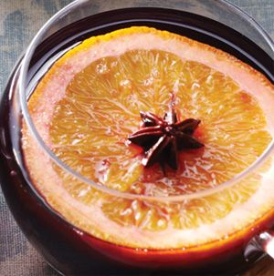 to your home with a steaming mug of mulled wine. Simply heat red wine ...