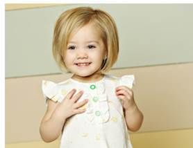 Toddler girl bob haircut  Baby Girl  Pinterest