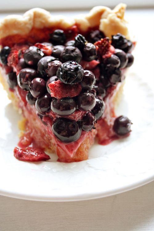 ... Pies: Whole Lemon Pie topped with Blueberry/Strawberry & Thyme Pie