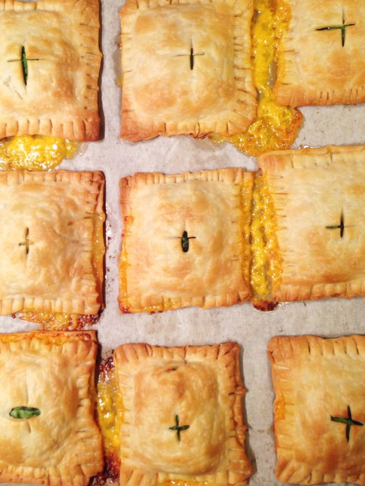 Ham, Cheese and Spinach hand pies by Let's Fête. Kids & adults love ...