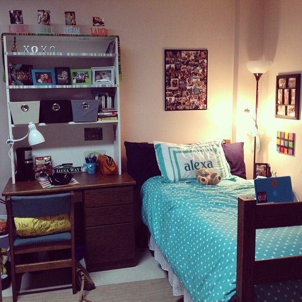 Decorating Ideas > Love The Shelves On Top Of The Desk!  College!  Pinterest ~ 233542_Dorm Room Shelf Ideas