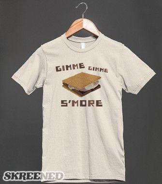 Gimme S'more | Organic T-shirt | Skreened