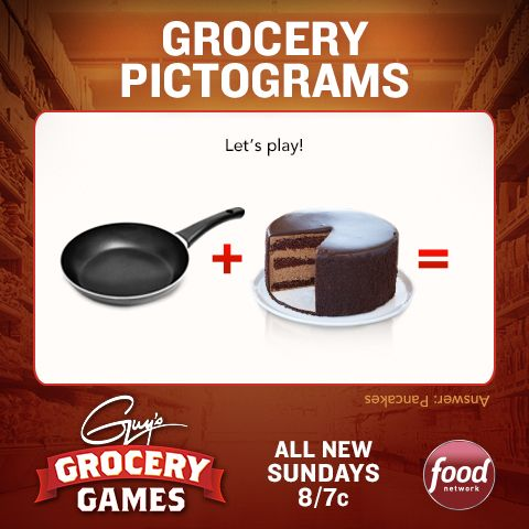 Take a shot at another challenge inspired by Guy's Grocery Games!